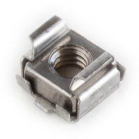 1/4-20 CAGE NUTS STAINLESS STEEL, PANEL RANGE .064-.105 (C98580-1420-81)