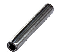 "3/4"" X 3"" HEAVY DUTY COILED PIN ASME B.18.8.2 1074 CARBON PLAIN"